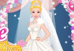 Игры Дизайн свадебного платья для Элли