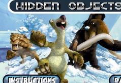 Игра Ледниковый период Скрытые объекты