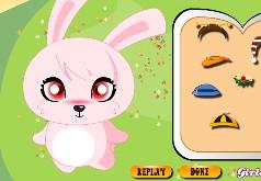 Игры Одевалка девочки кролика