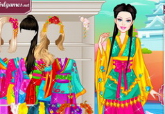 Игра «Барби: японская принцесса»