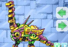Игры Скомбинируй диноробота Брахиозавр