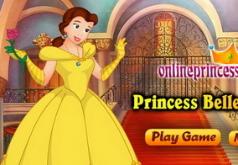 Игры Одевалка Принцесса Белль собирается на бал