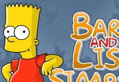 Барт и Лиза|игры поиск предметов|симпсоны