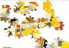 Игры Могучие Рейнджеры Пазл Рейнджер белый тигр