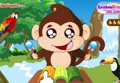 игры обезьянка музыкант
