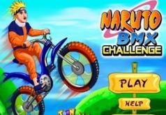 Игры Гонки Наруто на велосипеде