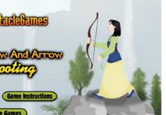 Игры Мулан 1 Стрельба из лука
