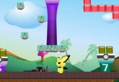 Игры Приключения Пикачу|бродилки|покемоны