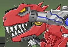 Игры Роботы динозавры рекс