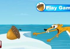 Игры Ледниковый Период Скрэт и Желуди
