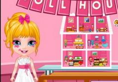 Игры Малышка Барби Строит Дом