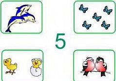 игры для детей 5 лет учимся считать