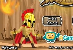 Игра Спартанцы против Персов
