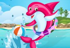 игры радостный дельфин отделка