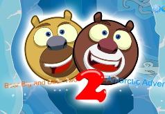 игры на двоих два медведя