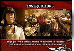 Игра Принц Персии Найдите алфавит