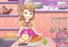 Игры Пирог Софии|готовим еду|софия прекрасная