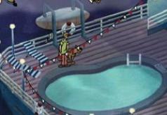 игры скуби ду корабль призрак
