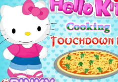 Игры Китти готовит пиццу
