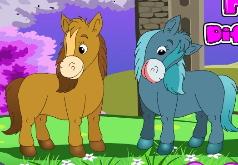 игры пони искать отличия