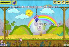 синий шар мультик игра для детей
