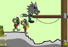Игра Волки против зомби