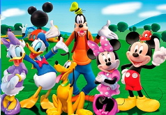 Игра «Ищем вещи Микки Мауса»