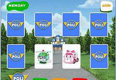 Робокары память|игры память|поли робокар