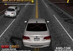 Игра 3Д Гонки на автомобиле
