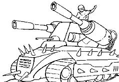 игры большой шипованный танк