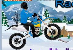 Игры Зимние мотогонки
