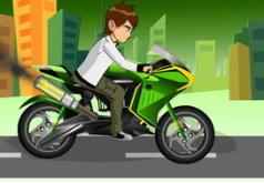 игры бен на спортивном мотоцикле