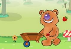 Игры Медведь и фрукты