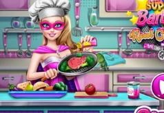 Игры Кухня супер Барби