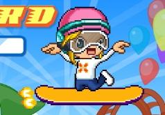 игры ракетный скейтборд