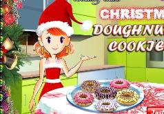 Игра Приготовление рождественских пончиков