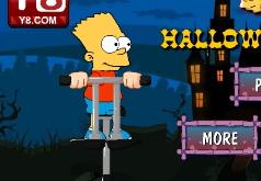 игры симпсоны хэллоуин прыжки