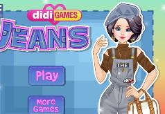 игры для девочек джинсовая мода