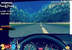 Игры гонки за рулём машины