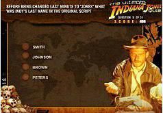 Игра Игра Вызов Индиана Джонса Тест