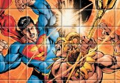 Игра Собери изображение Супермена