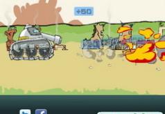 игры приключения сумасшедшего танка