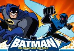 игры храбрый бэтмен и динамическая двойная команда
