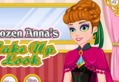 Игры Макияж и одевалка Анны