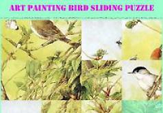 Игра Картины с птицами Пятнашки