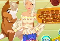 игры барби на лошадях одевалки