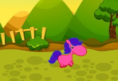 Игра Скачки с маленьким пони