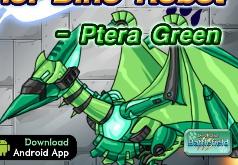 Игра Роботы динозавры: Птера Грин