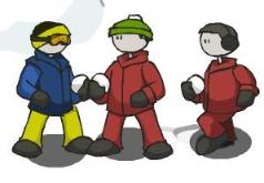 игры снежок на двоих