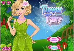 Игра Одень цветочную фею